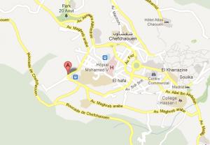 Mapa Casa Hassan